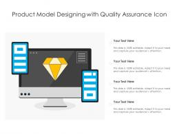 Product Model Designing With Quality Assurance Icon