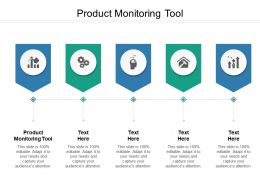 Product Monitoring Tool Ppt Powerpoint Presentation Infographics Gridlines Cpb