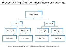 Product Offering Chart With Brand Name And Offerings