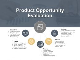 Product Opportunity Evaluation Competition Ppt Powerpoint Presentation Professional