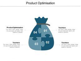 Product Optimisation Ppt Powerpoint Presentation Inspiration Demonstration Cpb