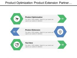 Product Optimization Product Extension Partner Enablement Market Grip