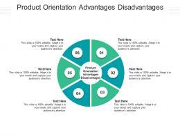 Product Orientation Advantages Disadvantages Ppt Powerpoint Presentation Inspiration Outline Cpb
