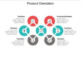 Product Orientation Ppt Powerpoint Presentation Slides Outline Cpb