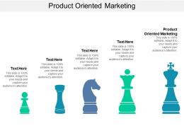 Product Oriented Marketing Ppt Powerpoint Presentation Styles Influencers Cpb