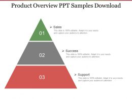 Product Overview Ppt Samples Download