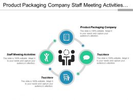 Product Packaging Company Staff Meeting Activities Advertising Employee Bonding Cpb