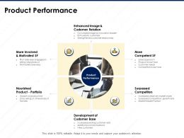 Product Performance Strengthened Customer Relationship Ppt Powerpoint Presentation Tips