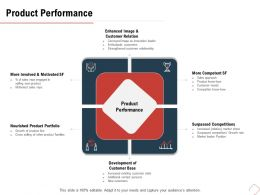 Product Performance Surpassed Competitions M486 Ppt Powerpoint Presentation Model Slides