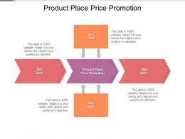 Product Place Price Promotion Ppt Powerpoint Presentation Inspiration Cpb