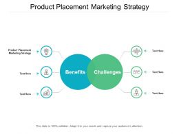 Product Placement Marketing Strategy Ppt Powerpoint Presentation Layouts Designs Download Cpb
