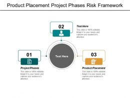 Product Placement Project Phases Risk Framework Revenue Budgeting Cpb