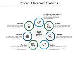 Product Placement Statistics Ppt Powerpoint Presentation Outline Sample Cpb