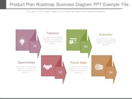 Product Plan Roadmap Business Diagram Ppt Example File
