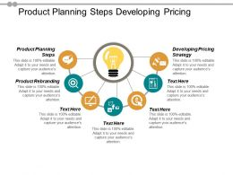 Product Planning Steps Developing Pricing Strategy Product Rebranding Cpb