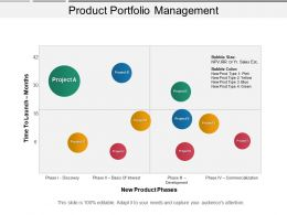 Product Portfolio Management Ppt Diagrams