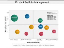Product Portfolio Management Ppt Diagrams