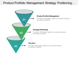 Product Portfolio Management Strategy Positioning Business Analytics Applications Cpb