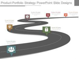 Product Portfolio Strategy Powerpoint Slide Designs