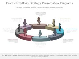 Product Portfolio Strategy Presentation Diagrams