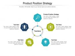 Product Position Strategy Ppt Powerpoint Presentation Layouts Portrait Cpb