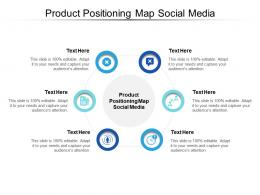 Product Positioning Map Social Media Ppt Powerpoint Presentation Infographics Show Cpb