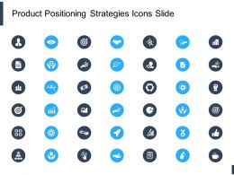 Product Positioning Strategies Icons Slide Growth L621 Ppt Powerpoint Vector