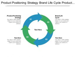 Product Positioning Strategy Brand Life Cycle Product Development Cycle Cpb