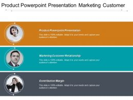 Product Powerpoint Presentation Marketing Customer Relationship Contribution Margin Cpb