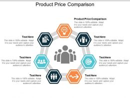 Product Price Comparison Ppt Powerpoint Presentation Inspiration Rules Cpb
