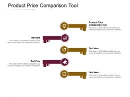 Product Price Comparison Tool Ppt Powerpoint Presentation Professional Smartart Cpb