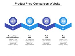 Product Price Comparison Website Ppt Powerpoint Presentation Infographic Template Introduction Cpb