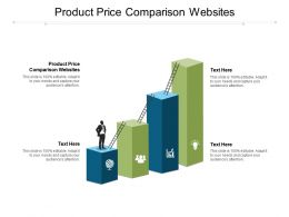 Product Price Comparison Websites Ppt Powerpoint Presentation Icon Gridlines Cpb