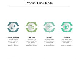 Product Price Model Ppt Powerpoint Presentation Portfolio Graphics Download Cpb