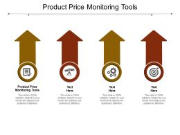 Product Price Monitoring Tools Ppt Powerpoint Presentation Gallery Clipart Images Cpb