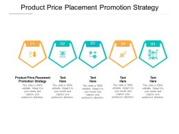 Product Price Placement Promotion Strategy Ppt Powerpoint Presentation Maker Cpb