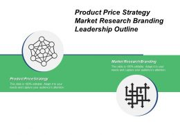 Product Price Strategy Market Research Branding Leadership Outline Cpb