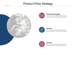 Product Price Strategy Ppt Powerpoint Presentation Layouts Visual Aids Cpb