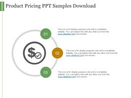 Product Pricing Ppt Samples Download