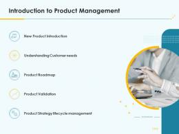 Product Pricing Strategy Introduction To Product Management Ppt Icons