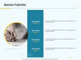 Product Pricing Strategy Market Potential Ppt Infographics