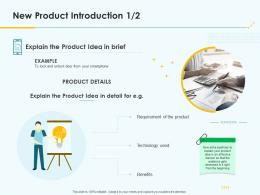 Product Pricing Strategy New Product Introduction Ppt Icons
