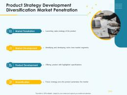 Product Pricing Strategy Product Strategy Development Diversification Market Penetration Ppt Themes