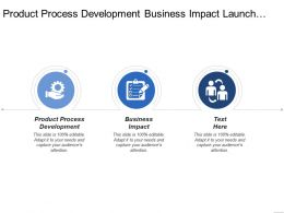 Product Process Development Business Impact Launch Continuous Improvement