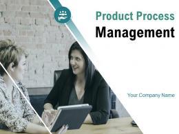 Product Process Management Development Marketing Strategy Framework Gear Flowchart