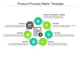Product Process Matrix Template Ppt Powerpoint Presentation Ideas Brochure Cpb