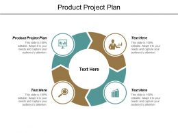 Product Project Plan Ppt Powerpoint Presentation Layouts Clipart Cpb