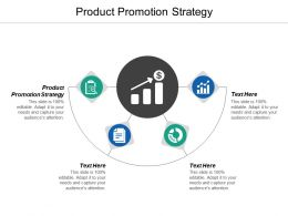 Product Promotion Strategy Ppt Powerpoint Presentation Model Example Cpb