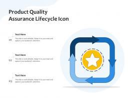Product Quality Assurance Lifecycle Icon