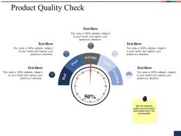 Product Quality Check Ppt Professional Designs Download